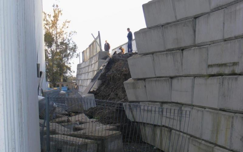 Retaining Wall Failure Shirley Consulting Engineers